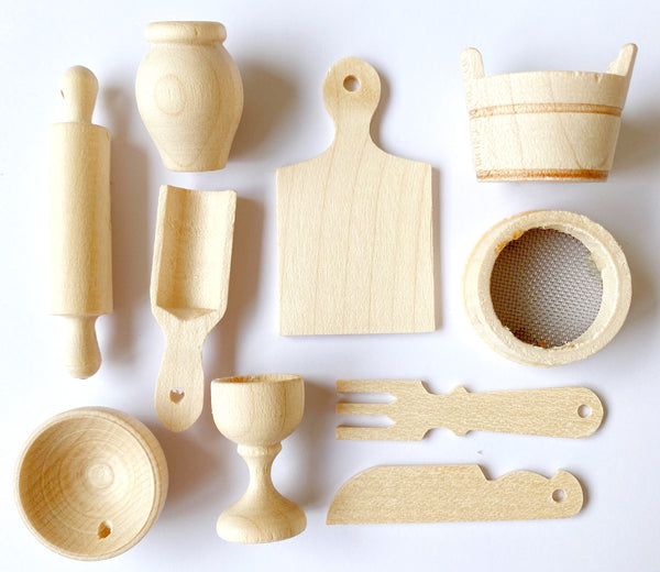 Montessori Miniature Kitchen Tools