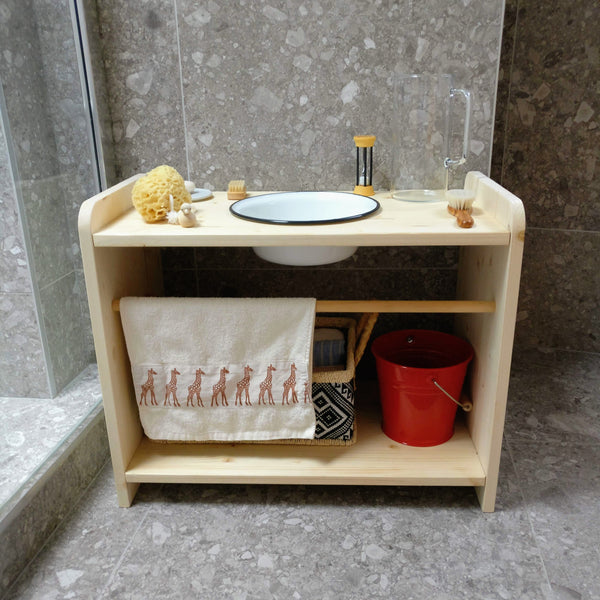 Montessori Single Washing Station
