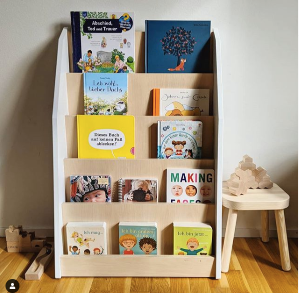 Montessori Front Facing Book Shelves