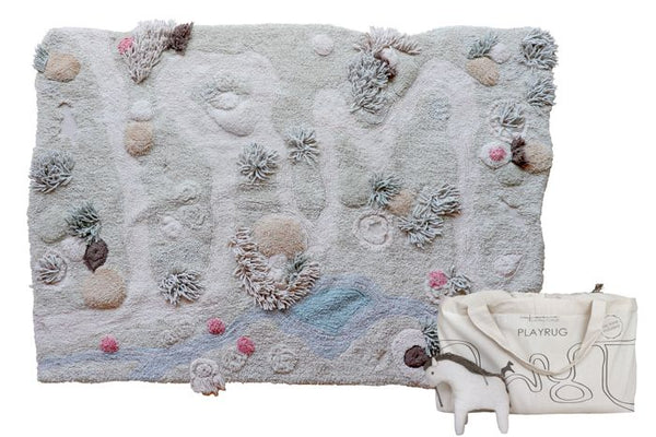 Washable Nature Path Textured Play Rug
