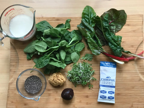 longevity smoothie ingredients