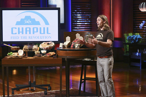 Pat and Chapul on Shark Tank