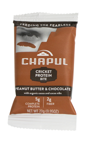 Chapul Bites! Peanut Butter Chocolate - 20 bars