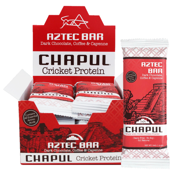 Chapul Aztec Bar Box | Cricket Flour Protein Bar