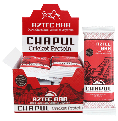 Chapul Aztec Bar | Cricket Flour Protein Bar