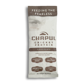Chapul Protein Powder: Chocolate | Sample Pouch | Dozen