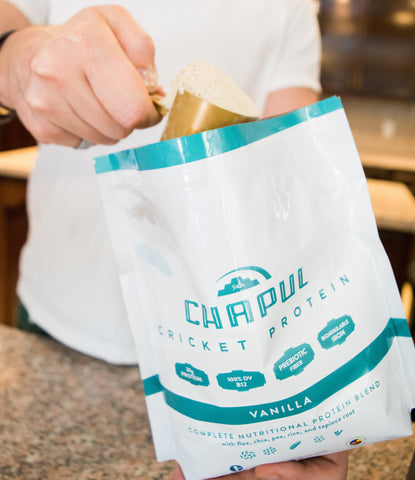 Vanilla Cricket Protein Powder | 1 LB bag | Chapul.com