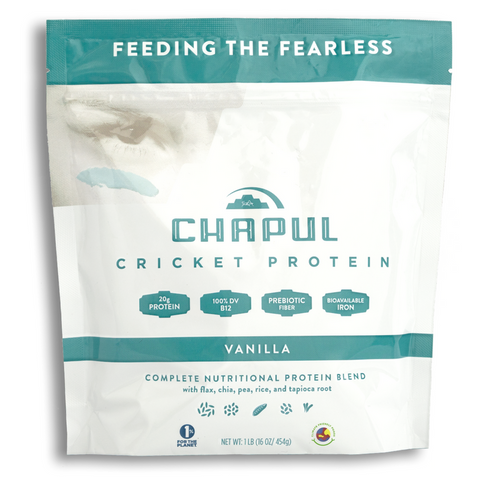 Chapul Cricket Protein Powder | Vanilla | 1lb