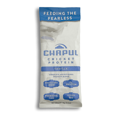 Chapul Protein Powder | Chocolate/Vanilla Single-Serve | 4 packs