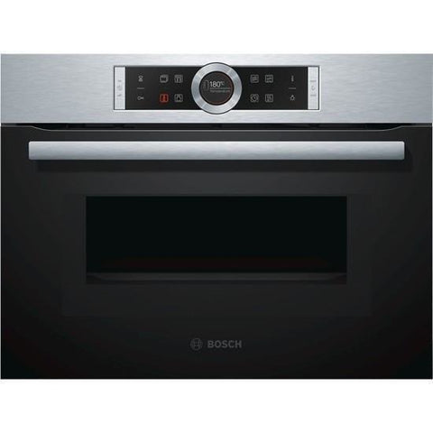 Bosch CMG633BS1   Built In Microwave Oven With Compact Steamer Serie | 8