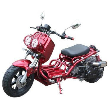 Maddog PMZ50 19N Scooter 50cc Red