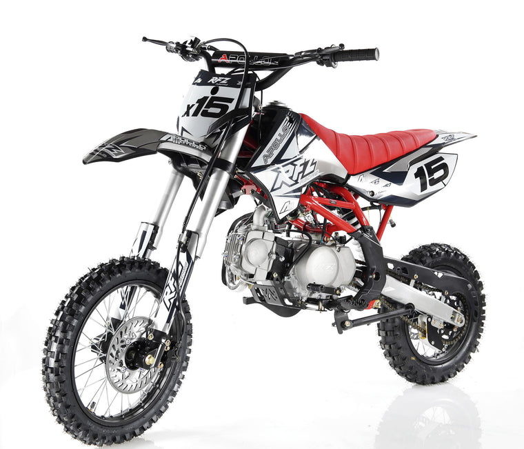 Apollo X15 125cc Dirt Bike Black