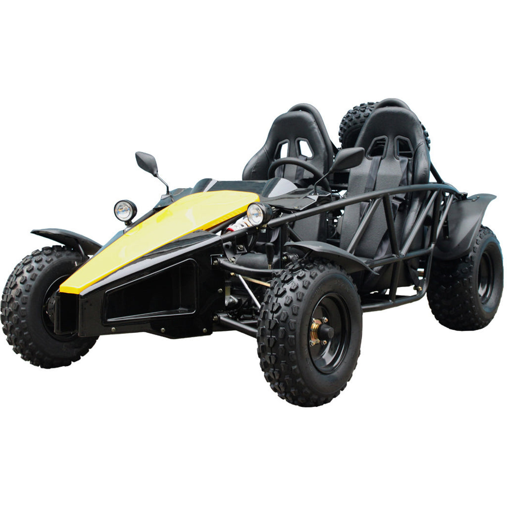 TAOTAO Arrow150 Go Kart Yellow