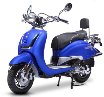 BMS Heritage 150cc Scooter New Arrival, FREE Luggage Box