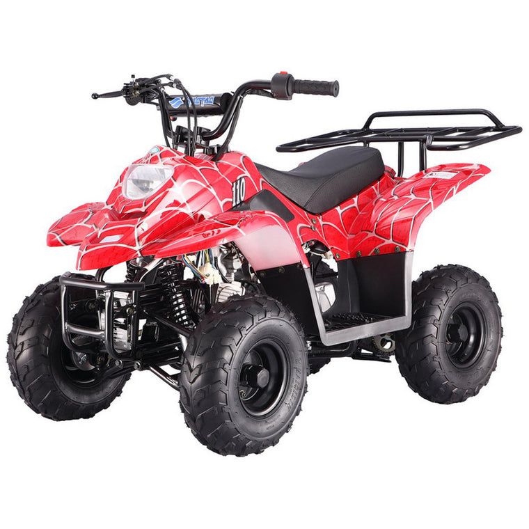 TAOTAO Boulder B1 ATV 110cc Red Spider