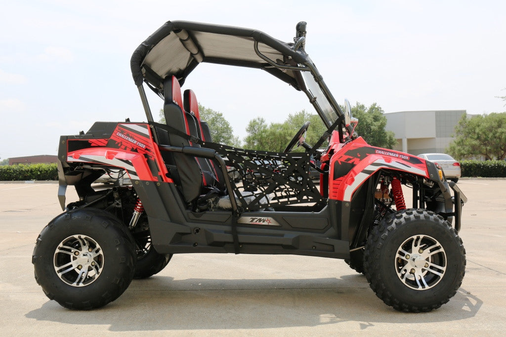 TrailMaster Challenger 150X Utility Vehicle Red