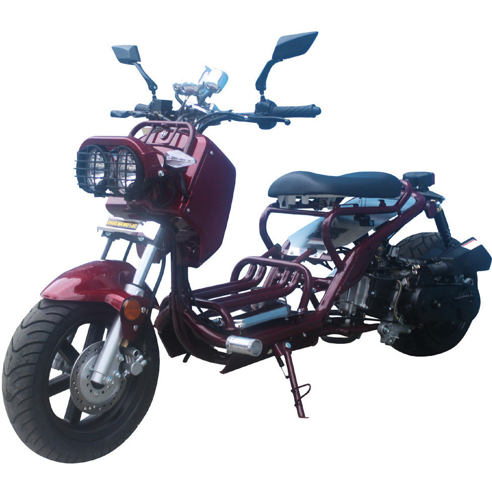TAOTAO Cruiser 50 Scooter Burgundy
