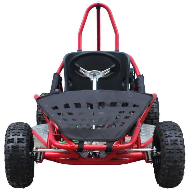 TAOTAO GK80 Go Kart Front View Red