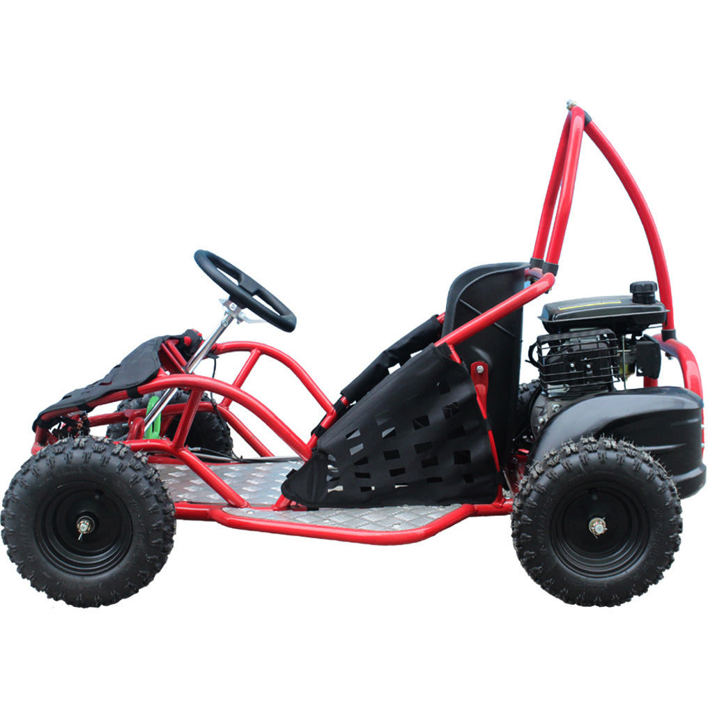 TAOTAO GK80 Go Kart Left Side View Red