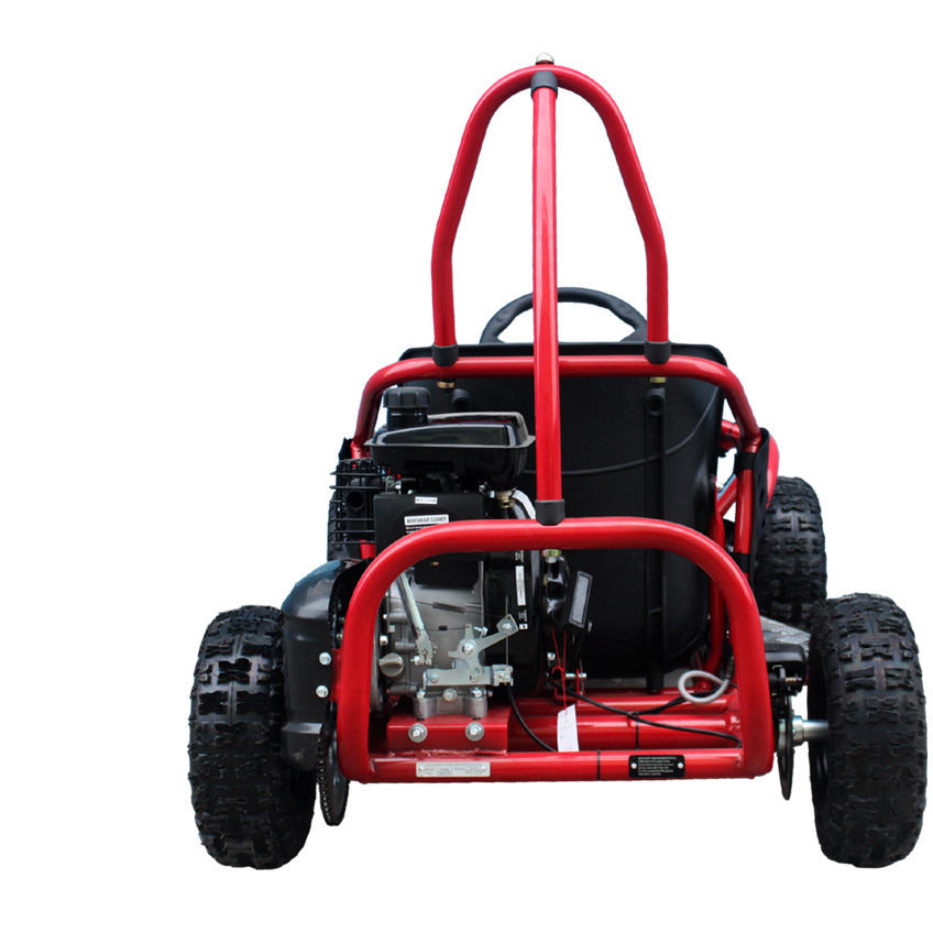TAOTAO GK80 Go Kart Back View Red