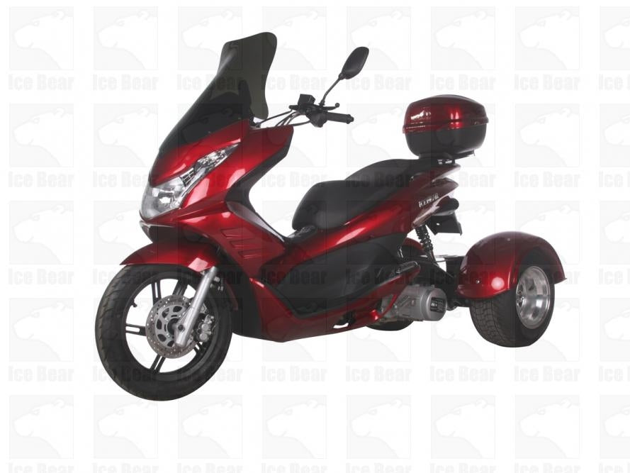 Ice Bear Q6 150cc FULL SIZE Motor Trike Scooter PST150-17