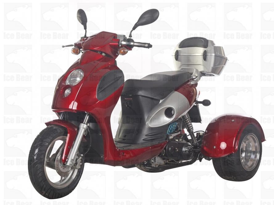 Ice Bear BULLSEYE 50cc Trike Scooter PST50-14
