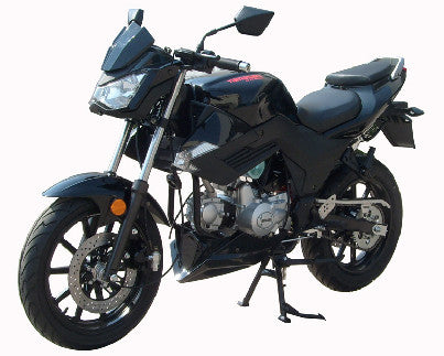 Roketa 159 Scooter 50cc Black