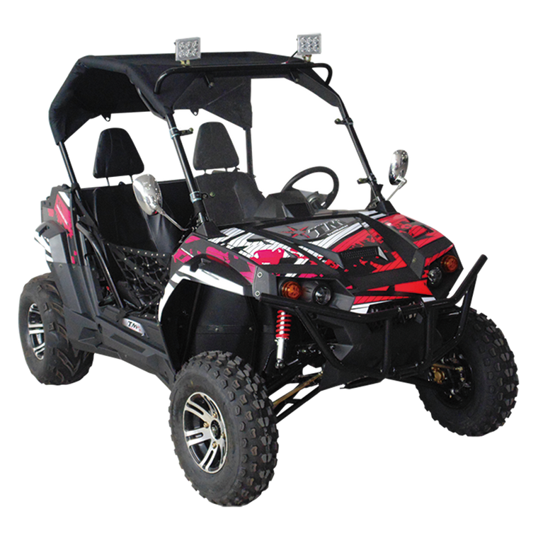 TrailMaster Challenger 150X Utility Vehicle Black