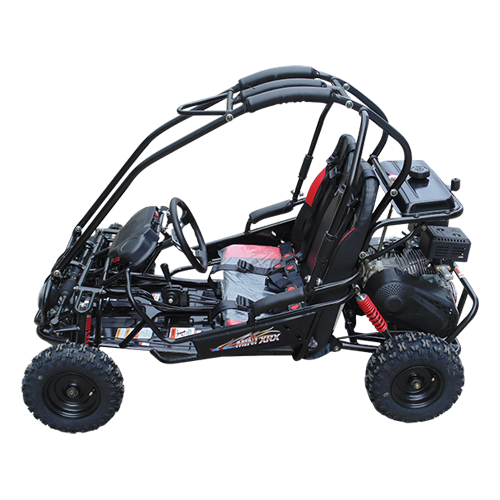 TrailMaster Mini XRX-R Go Kart Black