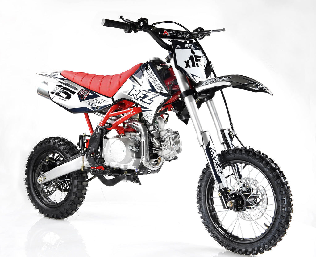 Apollo X15 125cc Dirt Bike Right Front
