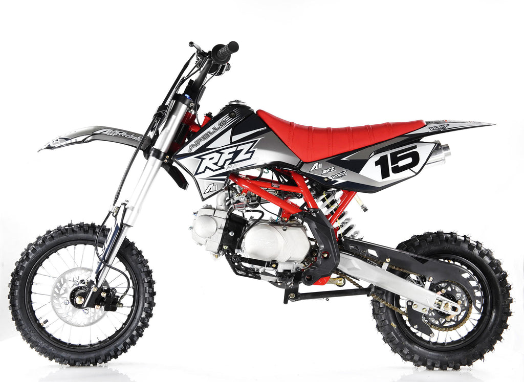 Apollo X15 125cc Dirt Bike Black Left