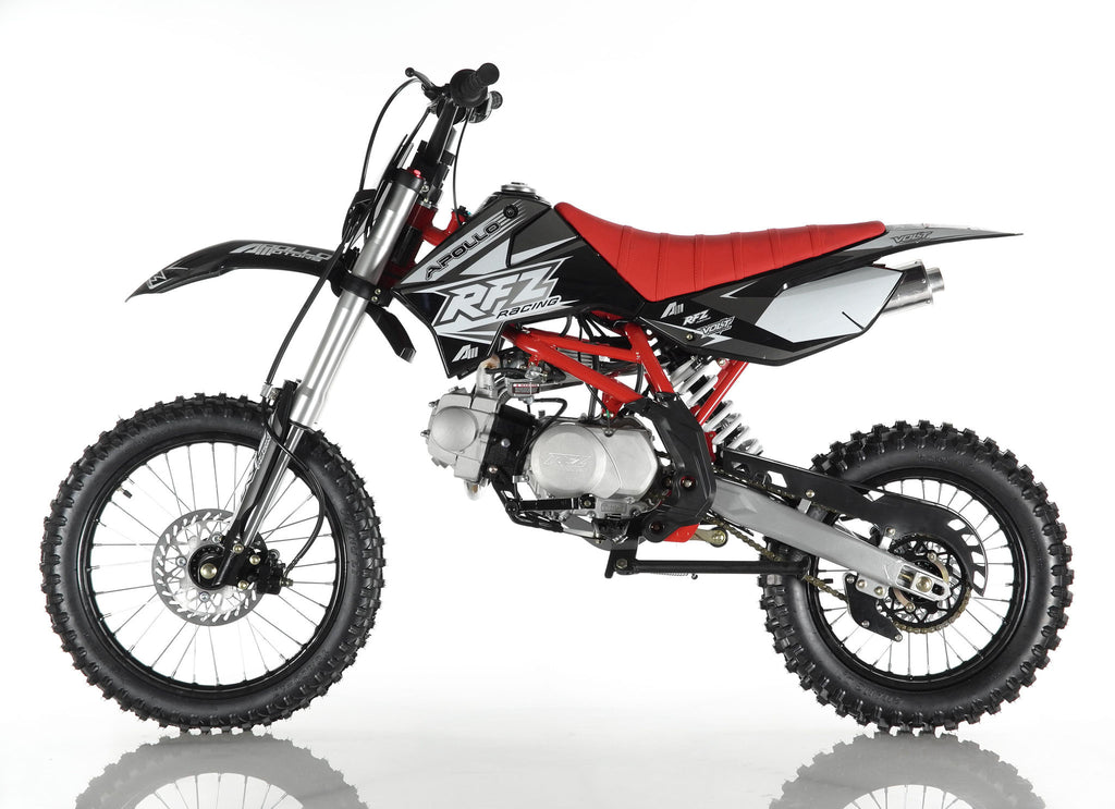 Apollo X18 125cc Dirt Bike Black Left