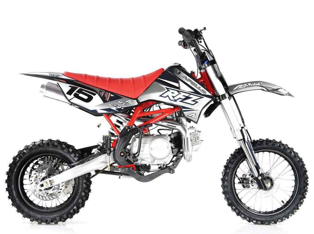 Apollo X15 125cc Dirt Bike Black Right