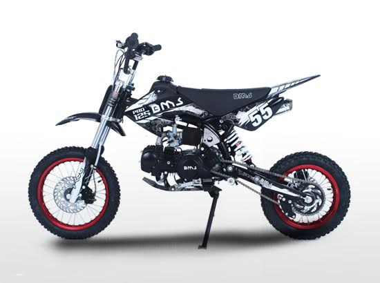 BMS PRO125 Racing Competition black