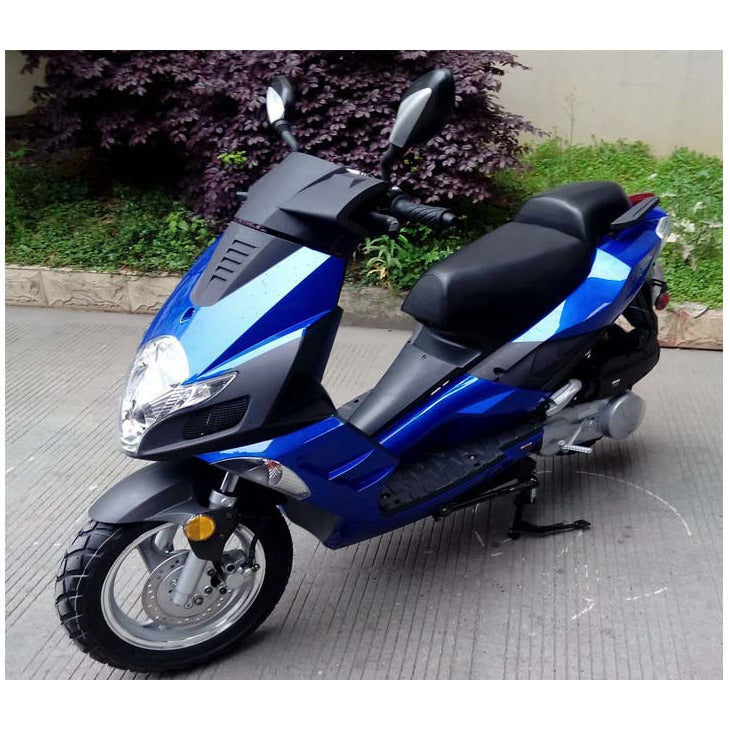 Roketa 140 50cc Scooter Blue