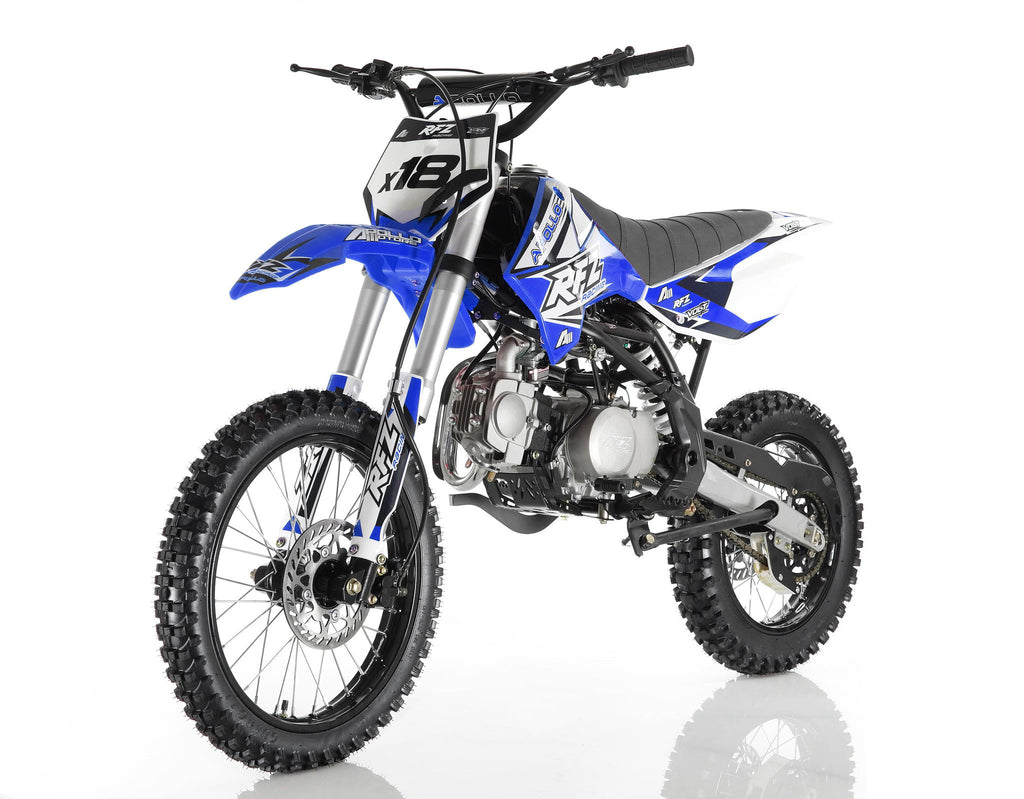 Apollo X18 125cc Dirt Bike Blue