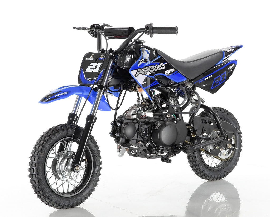 Apollo 21 70cc Dirt Bike Blue