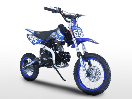 BMS PRO125 Racing Competition Blue
