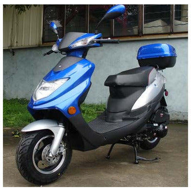 Roketa 123 150cc Scooter Blue