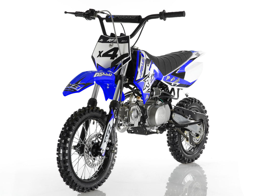 Apollo X4 Dirt Bike 110cc Blue
