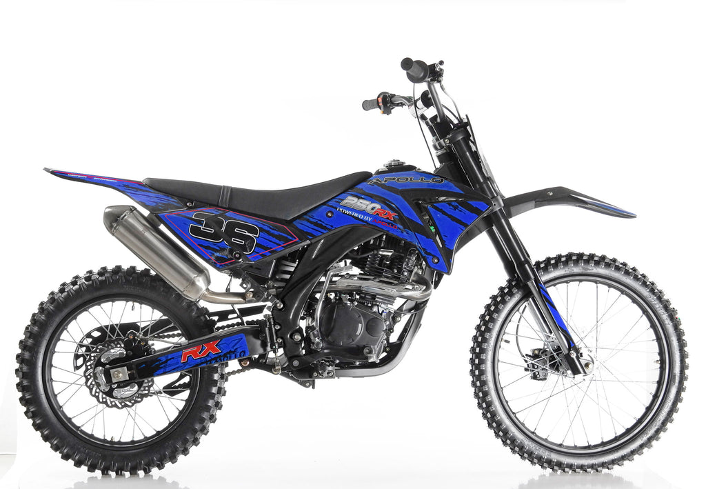 Apollo 36 Dirt Bike 250cc Blue