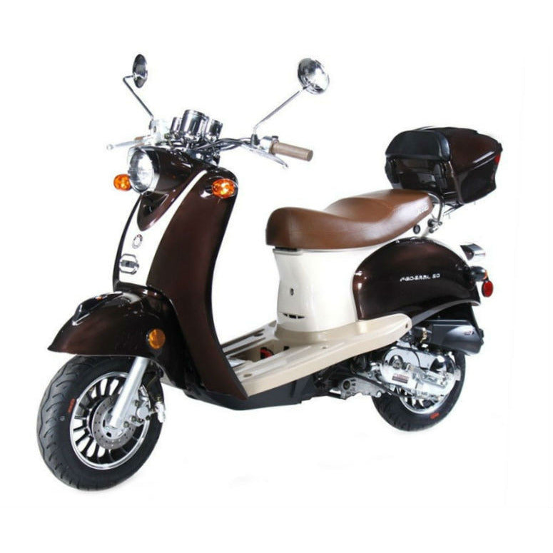 BMS Federal Scooter 50cc Brown