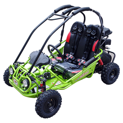 TrailMaster Mini XRX-R Go Kart Green