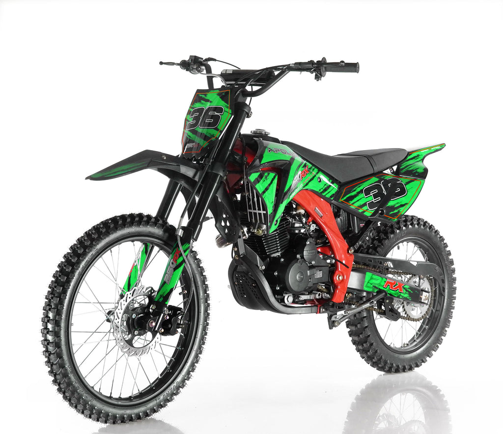 Apollo 36 250cc Dirt Bike Green