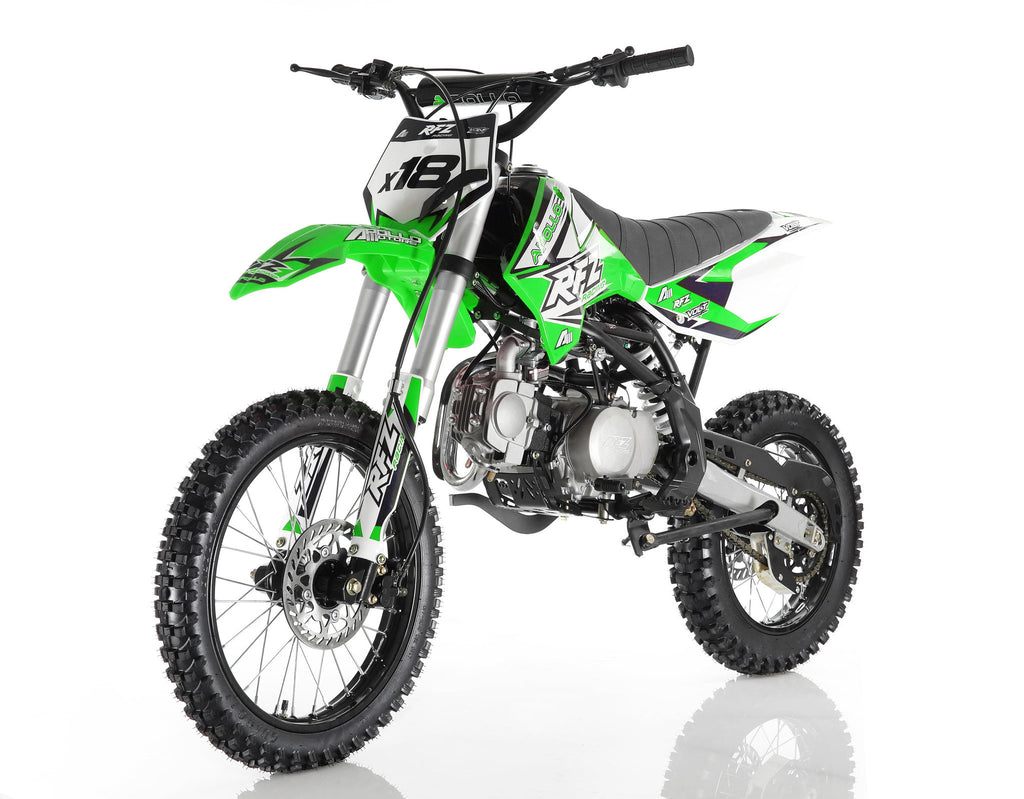 Apollo X18 125cc Dirt Bike Green