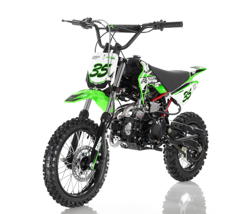 Apollo 35 125cc Dirt Bike Green
