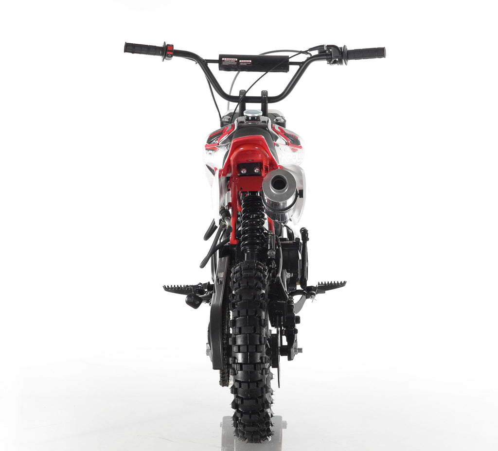 Apollo 34 110cc Dirt Bike Red