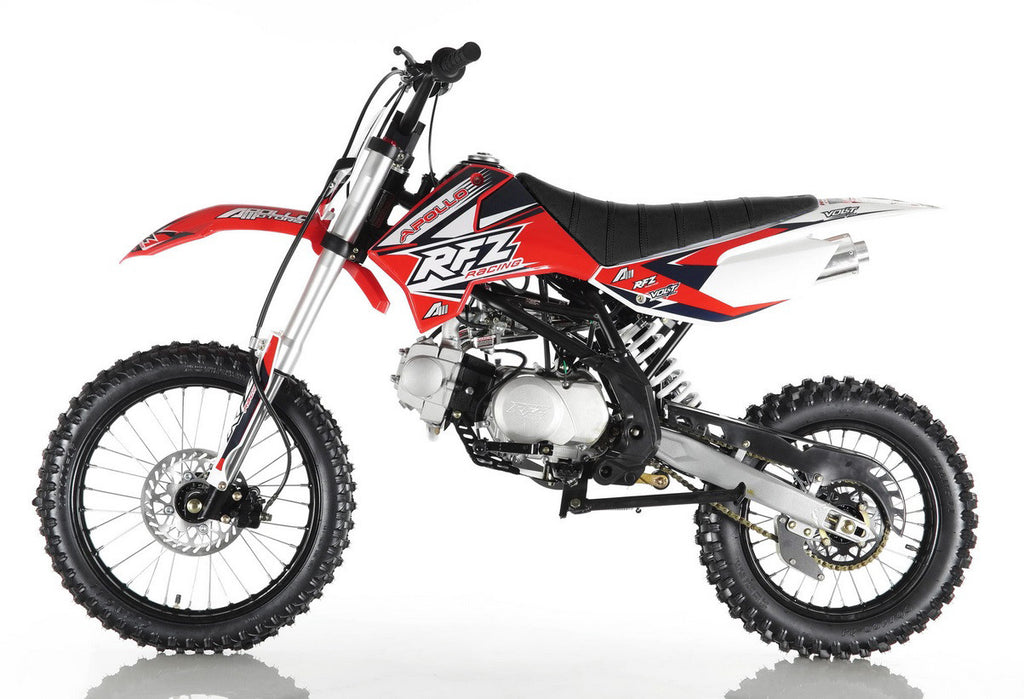 Apollo X18 Dirt Bike 125cc Red