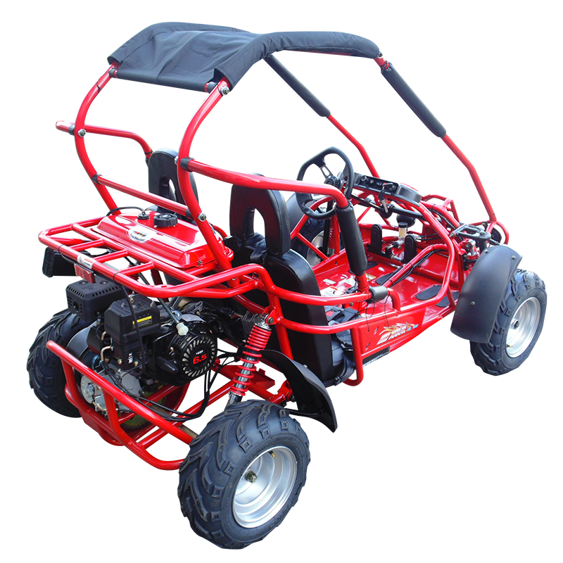 TrailMaster Mid XRX-R Go Kart Red