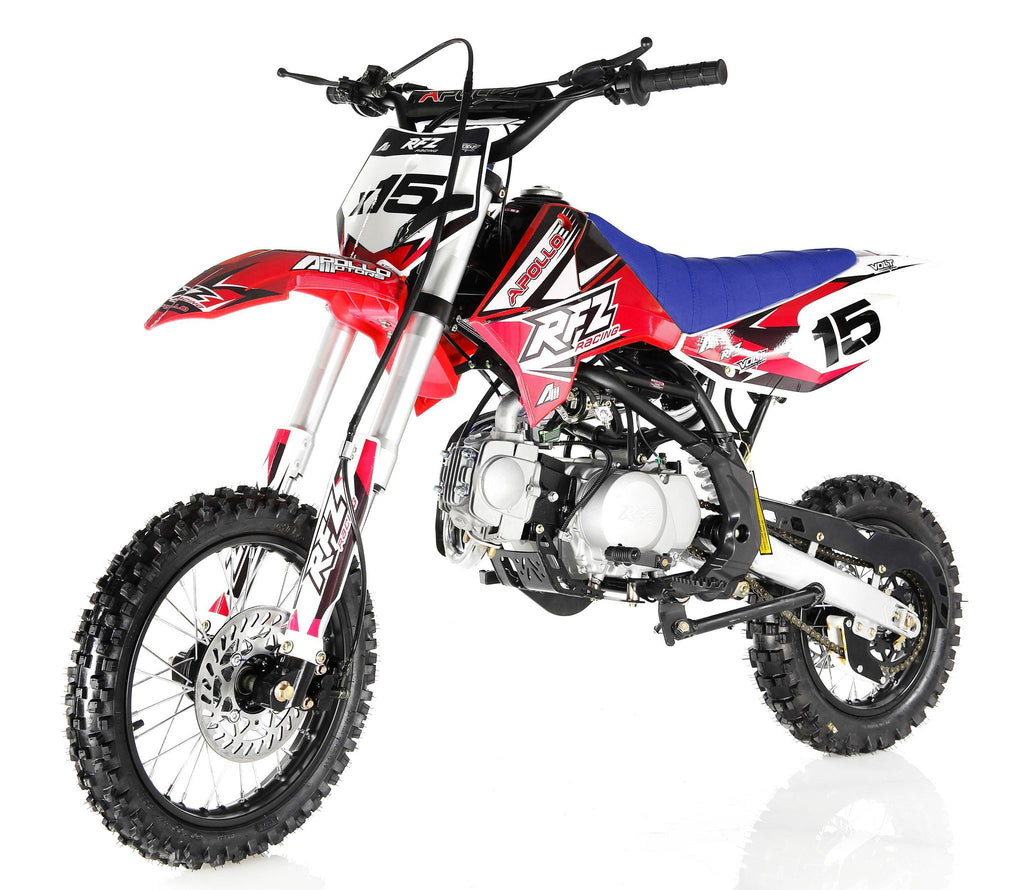Apollo X15 125cc Dirt Bike Red